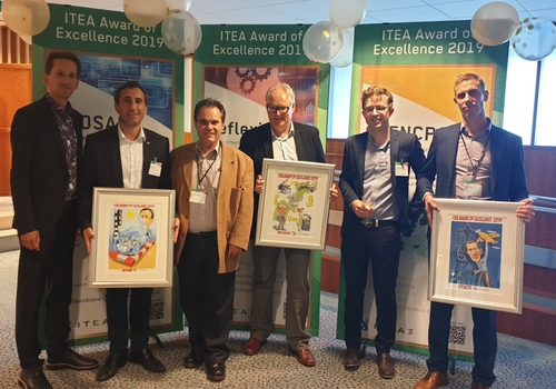 ITEA Award of Excellence winners 2019: ACOSAR, OpenCPS and Reflexion