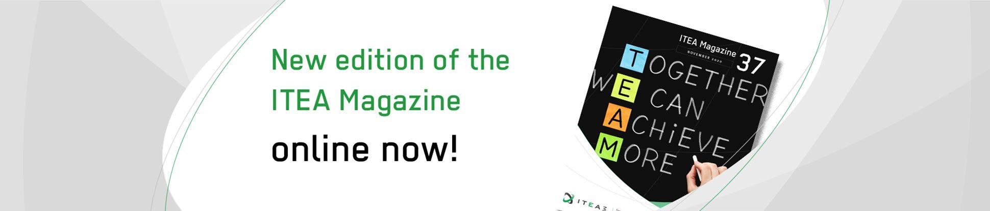 New ITEA Magazine online jumbotron