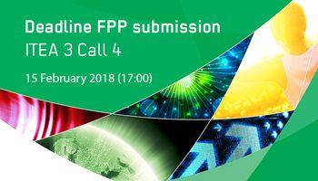 Deadline FPP submission ITEA 3 Call 4