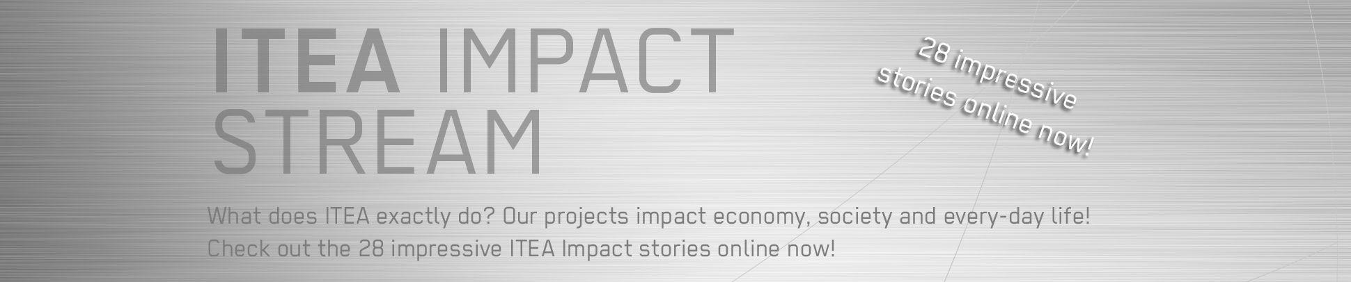 Jumbotron ITEA Impact stream June 2021
