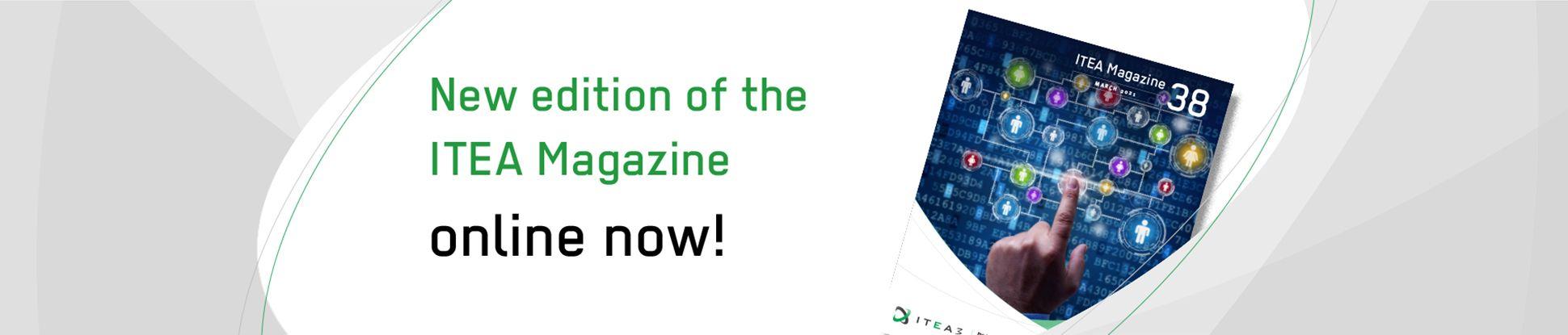 New ITEA Magazine #38 online jumbotron
