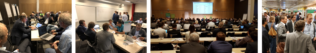 Different sessions at the PO Days 2018